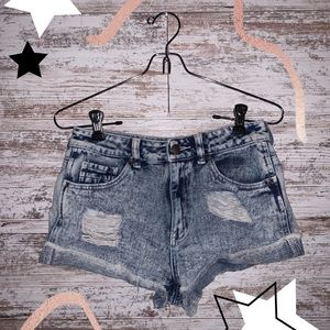 kendall and kylie denim shorts